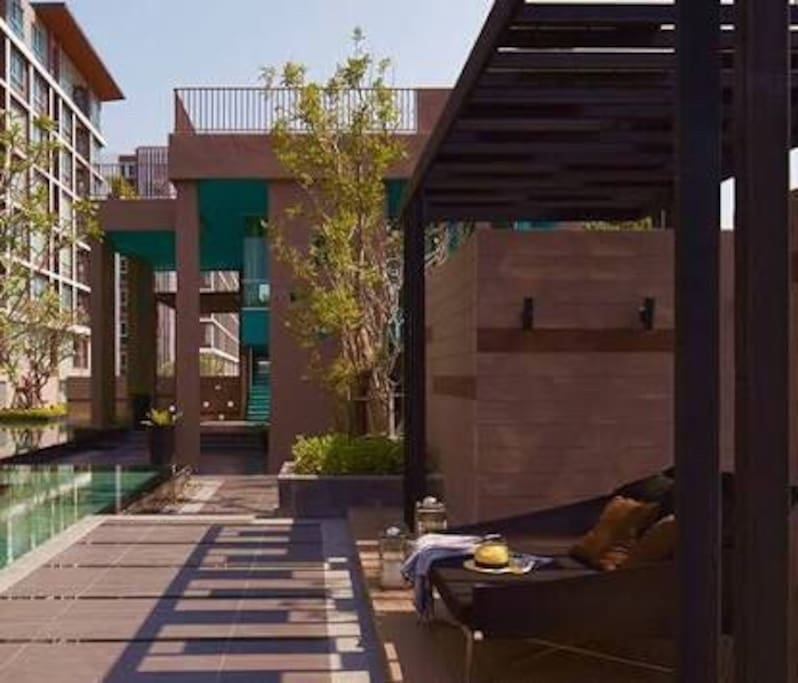 Swimming pool and Gym area