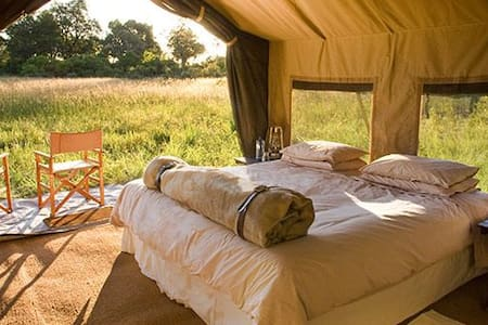 Luxury Tent Camping in National Park - Rustenburg