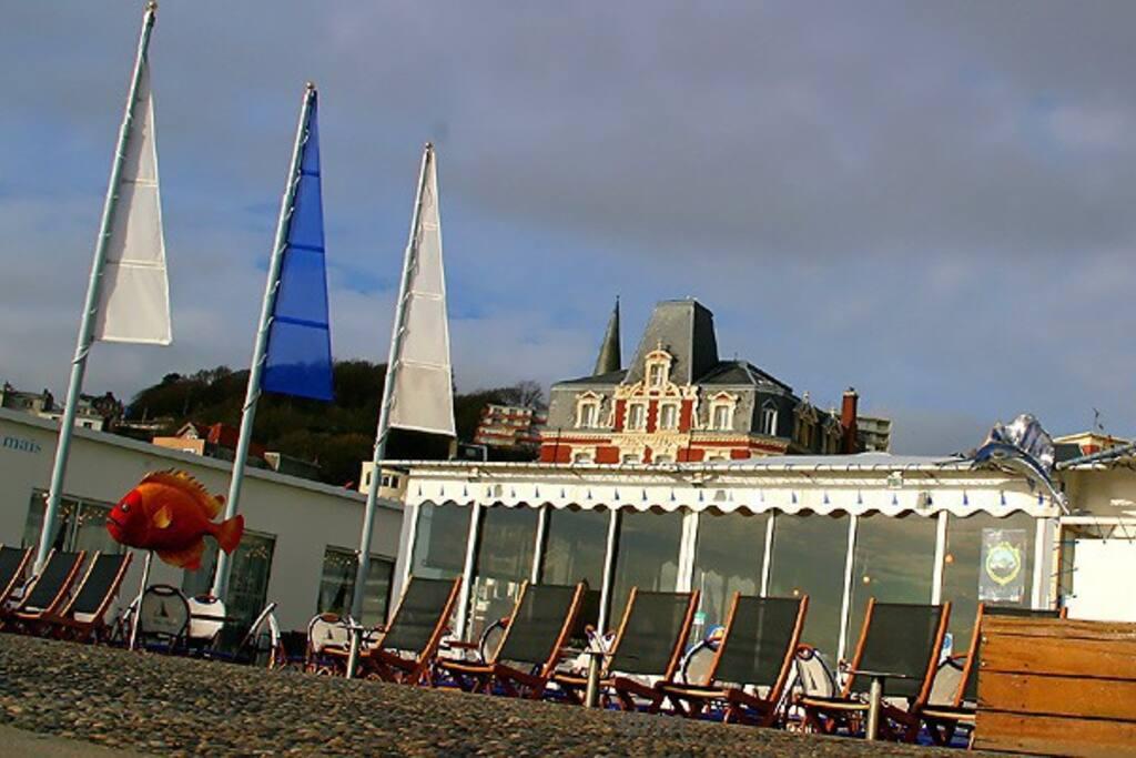 plage du Havre et ses restaurants