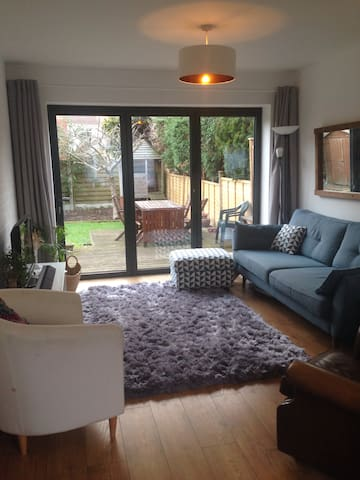 Spacious 2 bed family home.