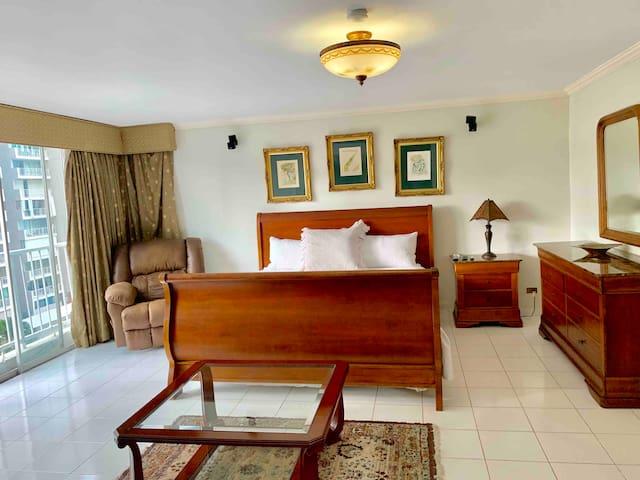 Spacious Luxury Master Bedroom