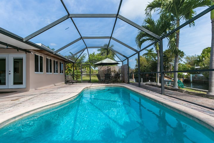 Fort Lauderdale Home with Pool and Boat Dock
