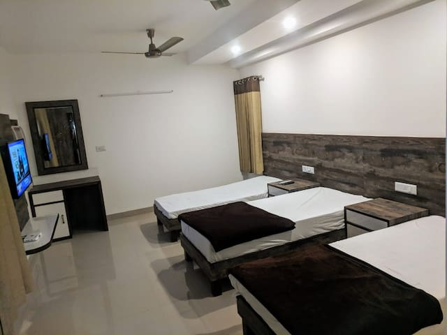 Triple bedded room | Comfy Stay | Breakfast