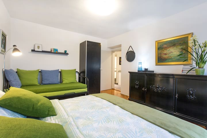 Slovenian art lovers-Green apartment- FREE PARKING