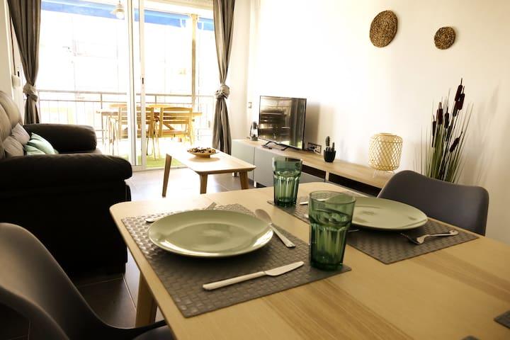 Hermoso apartamento a 20m de la playa