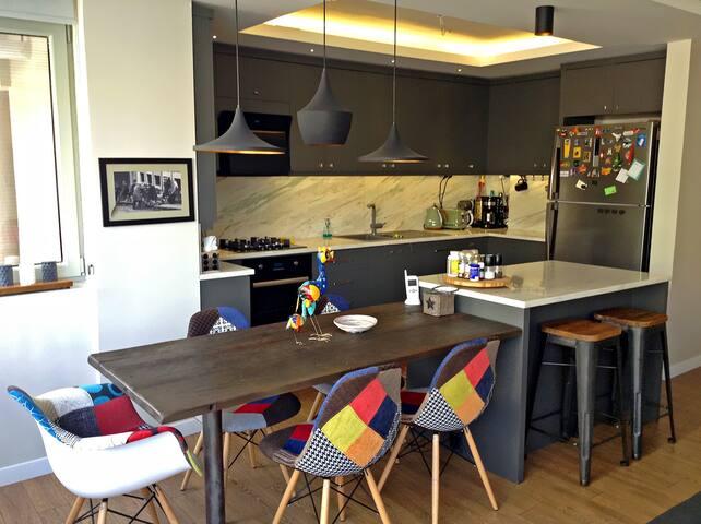 Lovely family apartment in Izmir - Karşıyaka