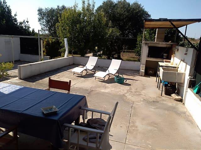 Back patio - Patio posteriore