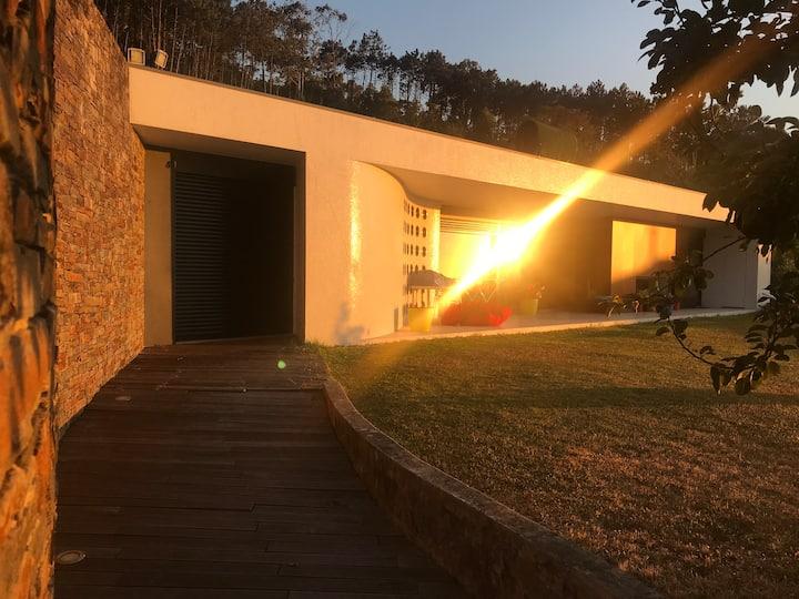Casa do Xisto - a balcony to the sea