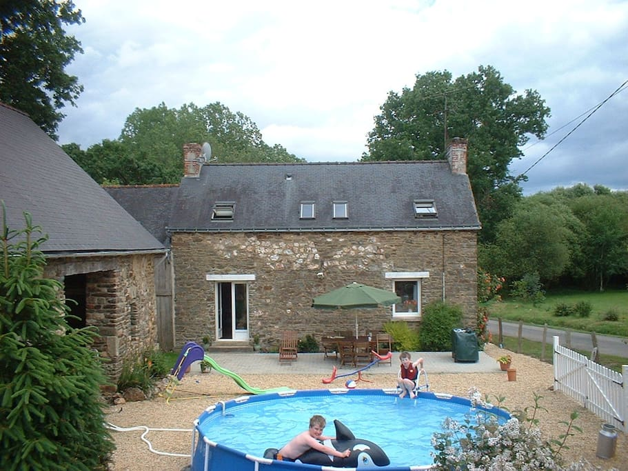Rural brittany farmhouse gite rurale bretagne h uschen for Gite rurale