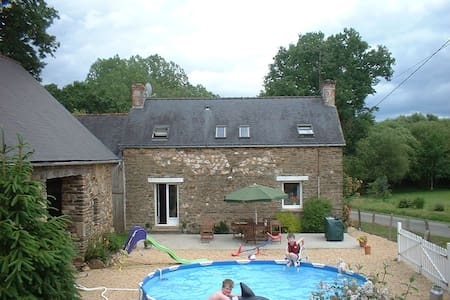 Rural Brittany Farmhouse / Gite Rurale Bretagne - Josselin - Dom