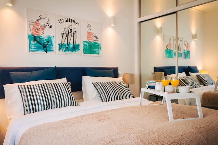 Aguda Golf Vita : Main Bedroom Two Single Beds Pushed Together