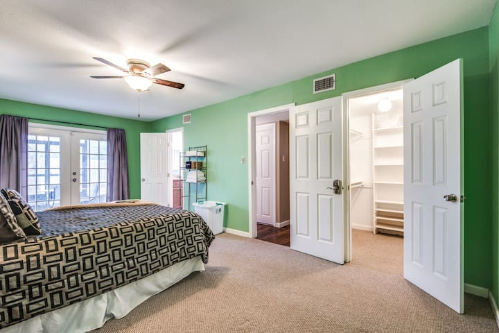 Your private master bedroom