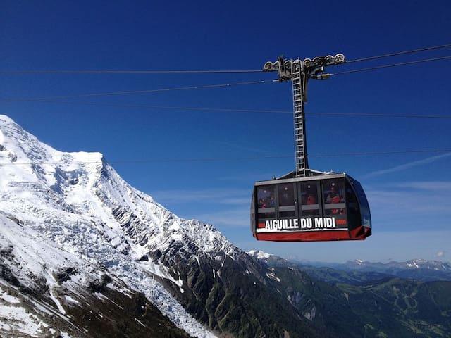 STUDIO CŒUR DE VILLE - Chamonix-Mont-Blanc