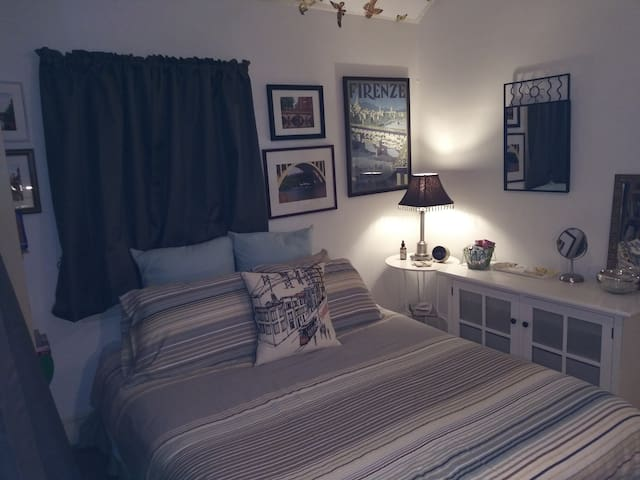 ~GuestNest: Guest Room+Private Bath+Metro+Parking