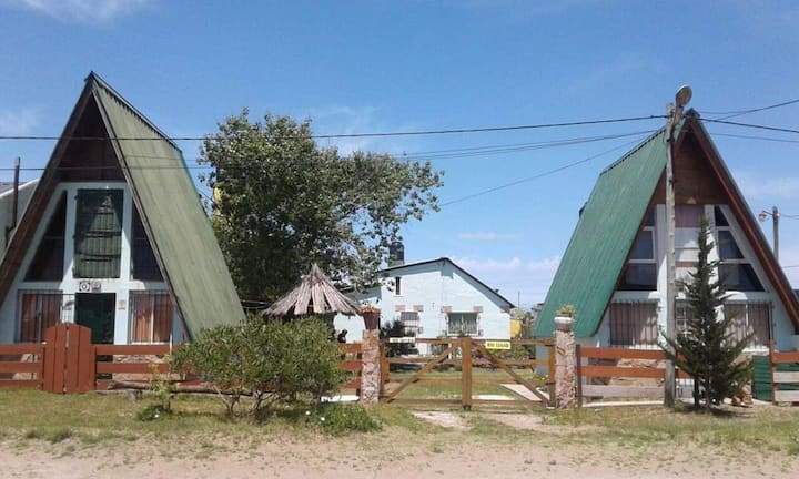 Cabaña (Casa) Alpina a 150mts de la playa
