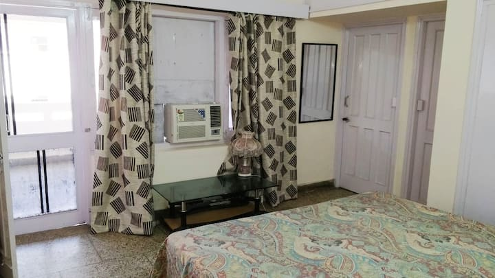 Private room with AC in  center of Chandigarh