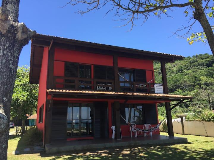 Casa p/ até 12 pessoas na Praia da Conceição