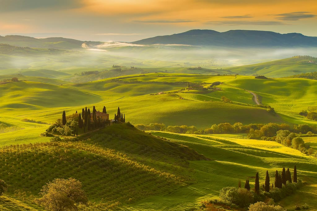 Val D'Orcia region
