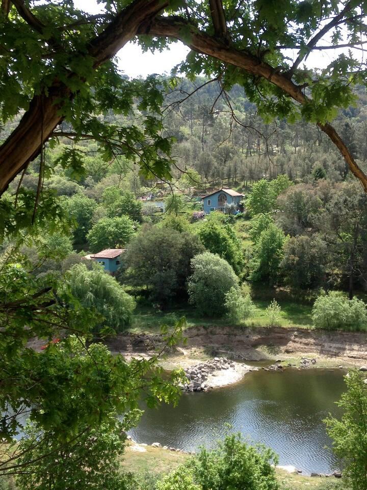 Quinta da Lontra - Entire riverside farm. Pax 15
