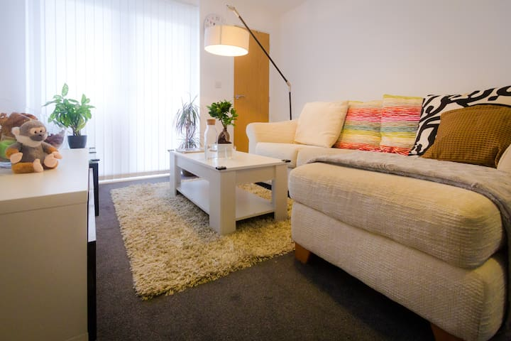 Clean private double bedroom + Parking - Leeds - Appartement