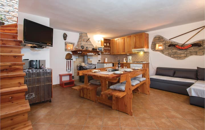 Nice home in Svetvincenat with WiFi and 2 Bedrooms