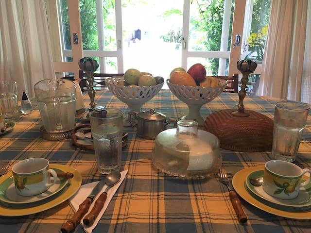 Sala de jantar / café da manhã