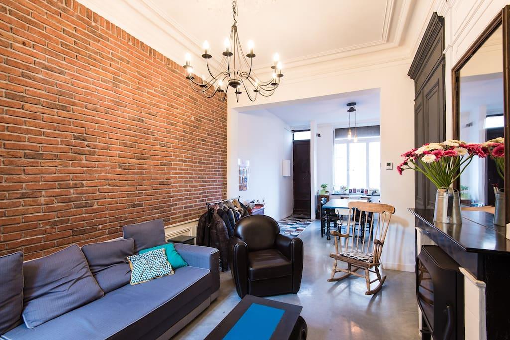 maison lille 100m2 proche gares maisons louer lille nord pas de calais france. Black Bedroom Furniture Sets. Home Design Ideas
