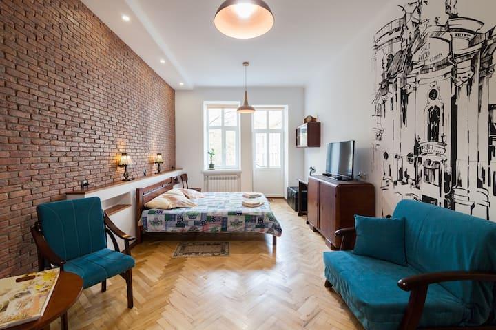 Апартаменты в историческом центре Львова