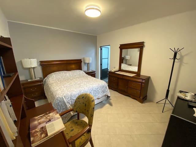 Cómoda habitación independiente en zona norte CDMX