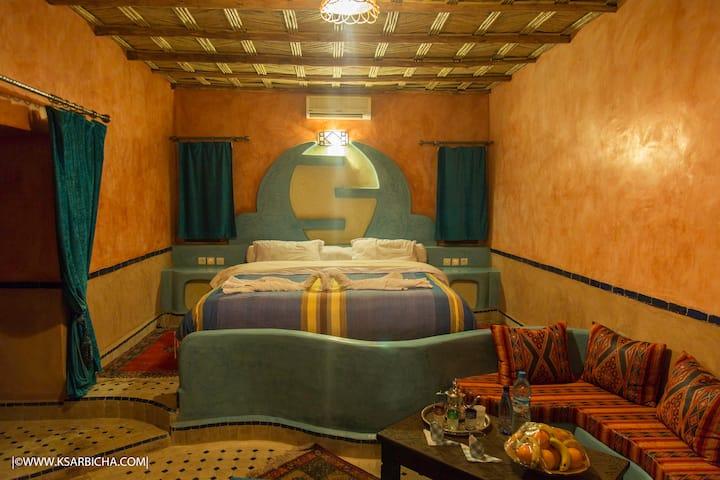 la chambre n 16 king seize avec  terrasse