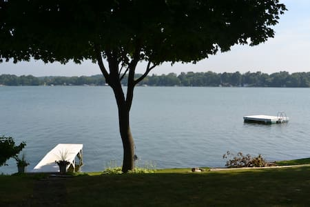 Us Open - Okauchee Lake Home W/ 210 Ft of Frontage - Oconomowoc - บ้าน