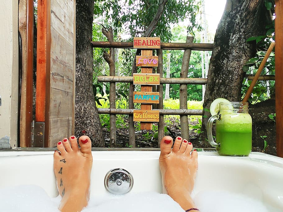 Nature baths, treat yourself. They are awesome!
