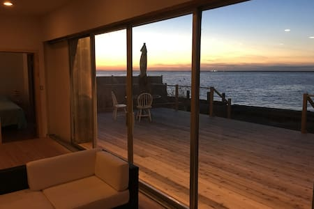 Bayfront Fun! - 3 BR and 3 Ensuite Bath Modernist - Cherry Grove, Fire Island - 独立屋