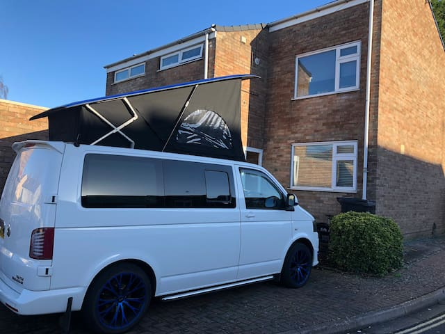 T5 VW camper van with full conversion