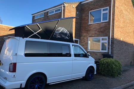 T5 VW camper van with full conversion