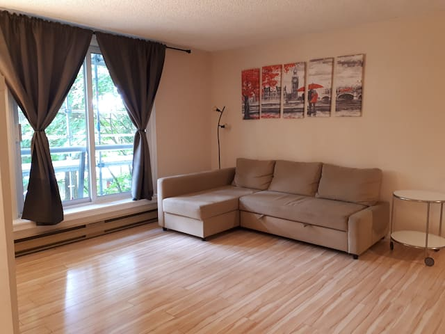 Clean and Specious 1BR in Great Location