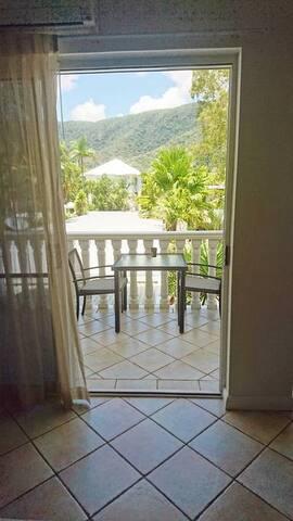 Mountain View Balcony