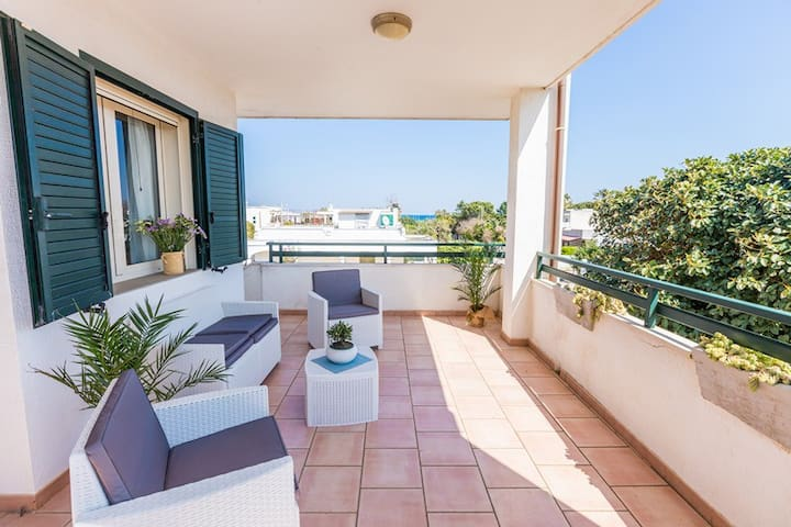 Appartamento Panorama sea view - Pantanagianni-pezze Morelli - 公寓