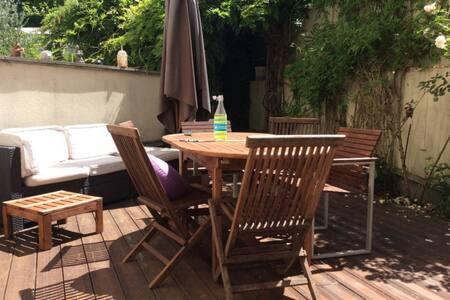 Appartement avec jardin et terrasse - Antony