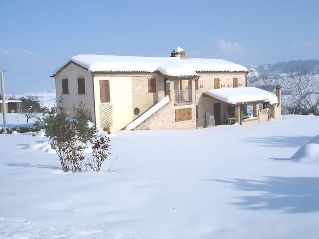 Casale di campagna affitto - Monterubbiano - House