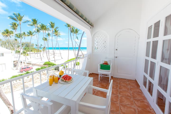 Beach front Ocean View Apt Paradisus WiFi Cleaning - Punta Cana - Apartment