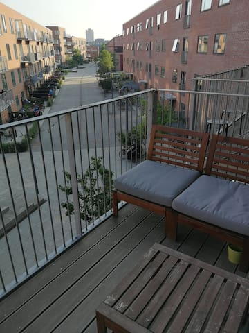 Room in a quiet and peaceful Valby. 1-2 persons