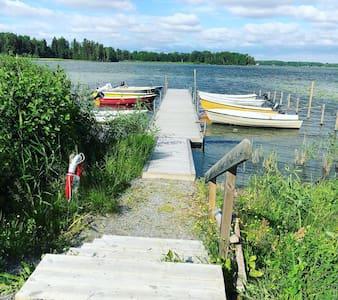 Sommarstuga vid sjö i Sundänge