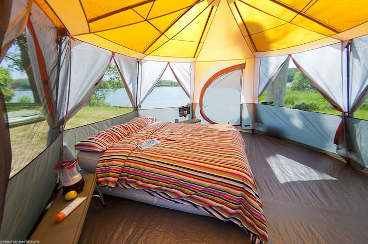 Glamping-Glamorous Camping - Eco Friendly