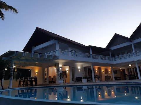 Villa Blanca Luxury Mediterranean Abode