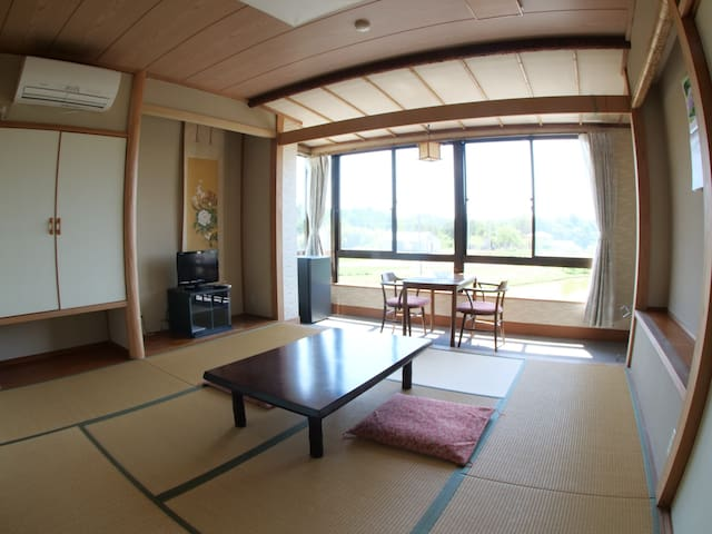 private room with Onsen bath room