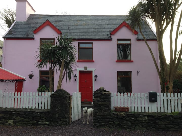 Caherdaniel Village.Pet Friendly.Walk to the pub !