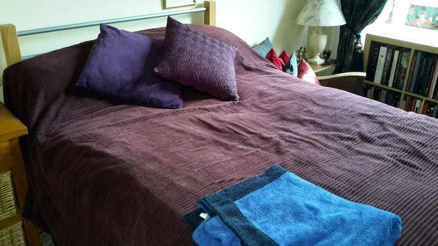 Double bed in quiet apartment - Glasgow - Apartamento