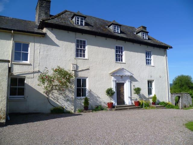 Aberllynfi House Double bedded room with Breakfast - Hay-on-Wye - Bed & Breakfast
