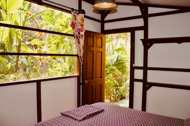 Private Jungle Room on Beautiful Property